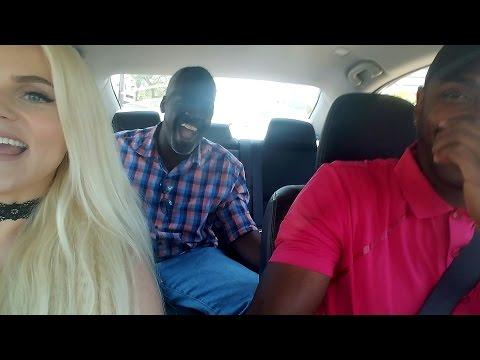 Car Karaoke Singing Love Pain by Jermayne Ft Derrick Thomas