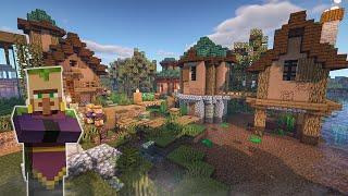 Swamp Village in Minecraft?! Transformation Build Timelapse YouTube