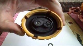 Ремонт клапана кришки розширювального бачка