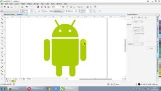 How To Draw Android Logo With Corel Draw X7