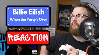 Reaction to Billie Eilish - When the Party's Over - Live Howard Stern - Metal Guy Reacts