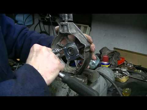 Смазка генератора СтартВольт 80А. Разборка и сборка генератора СтартВольт 80А