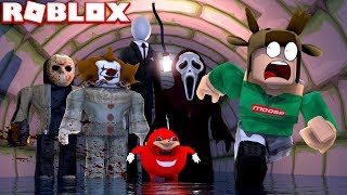 SURVIVE AGAINST KILLERS OF AREA 51 IN ROBLOX! (Roblox Area 51 Roleplay)