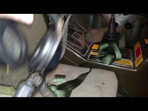 1971 M561 Gama Goat Winch Install and VRC-12/VIC-1