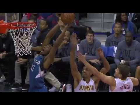 Andrew Wiggins Carries the Timberwolves Past the Hawks
