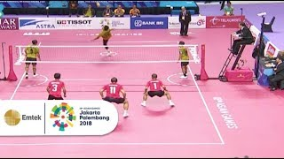 Download Video Highlight Pertandingan Sepak Takraw INA vs MALAYSIA | Asian Games 2018 MP3 3GP MP4