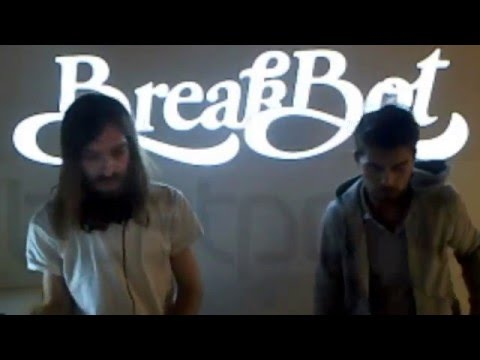 Breakbot DJing at Beatport Studio Berlin