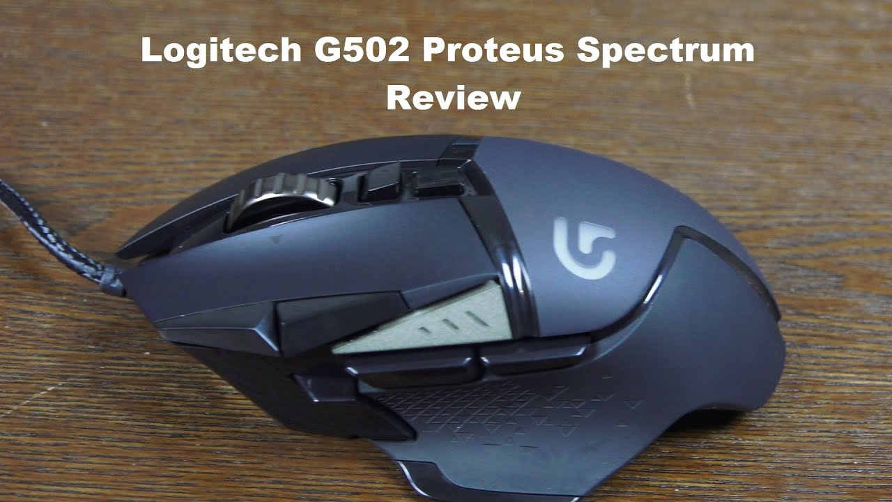 logitech g502 proteus spectrum gaming mouse review youtube. Black Bedroom Furniture Sets. Home Design Ideas