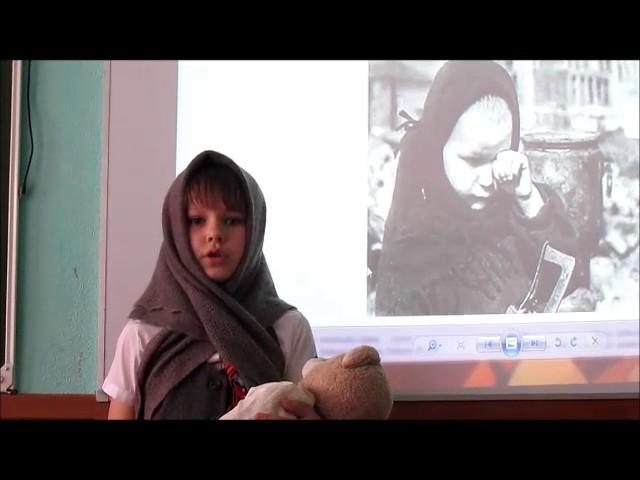 Изображение предпросмотра прочтения – ЕкатеринаЧаплыгина читает произведение «Дети войны» Л.Тасси