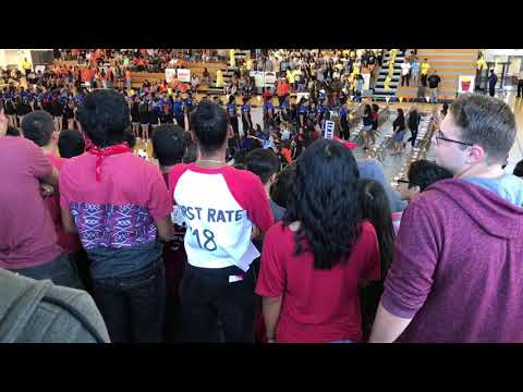 The first Rally 2018 of Diamond Ranch High School