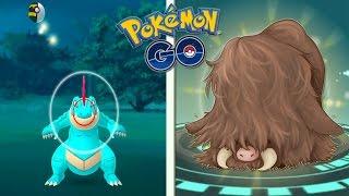 ¡Capturo FERALIGATR Salvaje desde CASA! Evolución de SWINUB PILOSWINE en Pokémon GO - Keibron Gamer