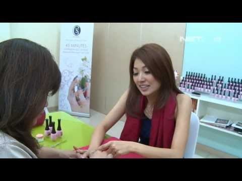 Entertainment News - Keseruan Wenda Tan dengan Nail Art