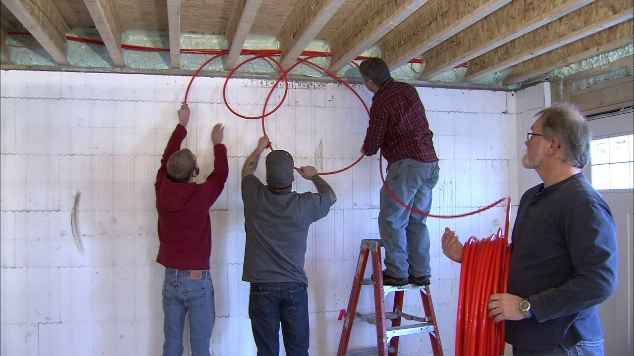 Installing Radiant Heat Between Joists Retrofit Into Replacing Aluminum Wiring With Copper Cost Your Home Or For New Construction