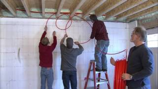 Installing Radiant Heat Between Joists. Retrofit radiant heat into your home or for new construction thumbnail