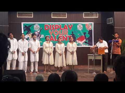 Group song music fine arts university of jammu
