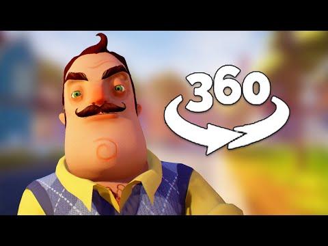 360 Video || Hello Neighbor VR - The Beginning