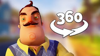 360 Video || Hello Neighbor VR - The Beginning