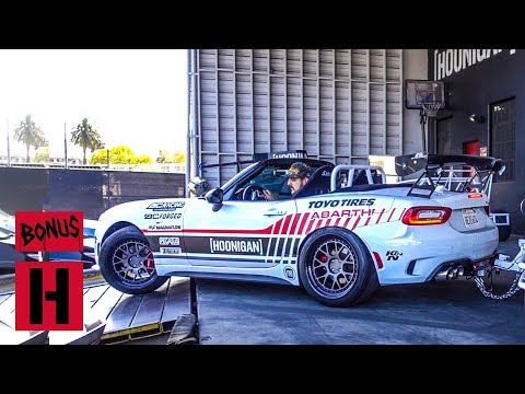 Hoonigans Wanted 2 Champ Claims the Prize - Fiat 124 Abarth Spider!