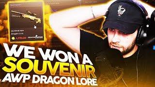 I WON A $5000 SOUVENIR DRAGON LORE, CS:GO!!!
