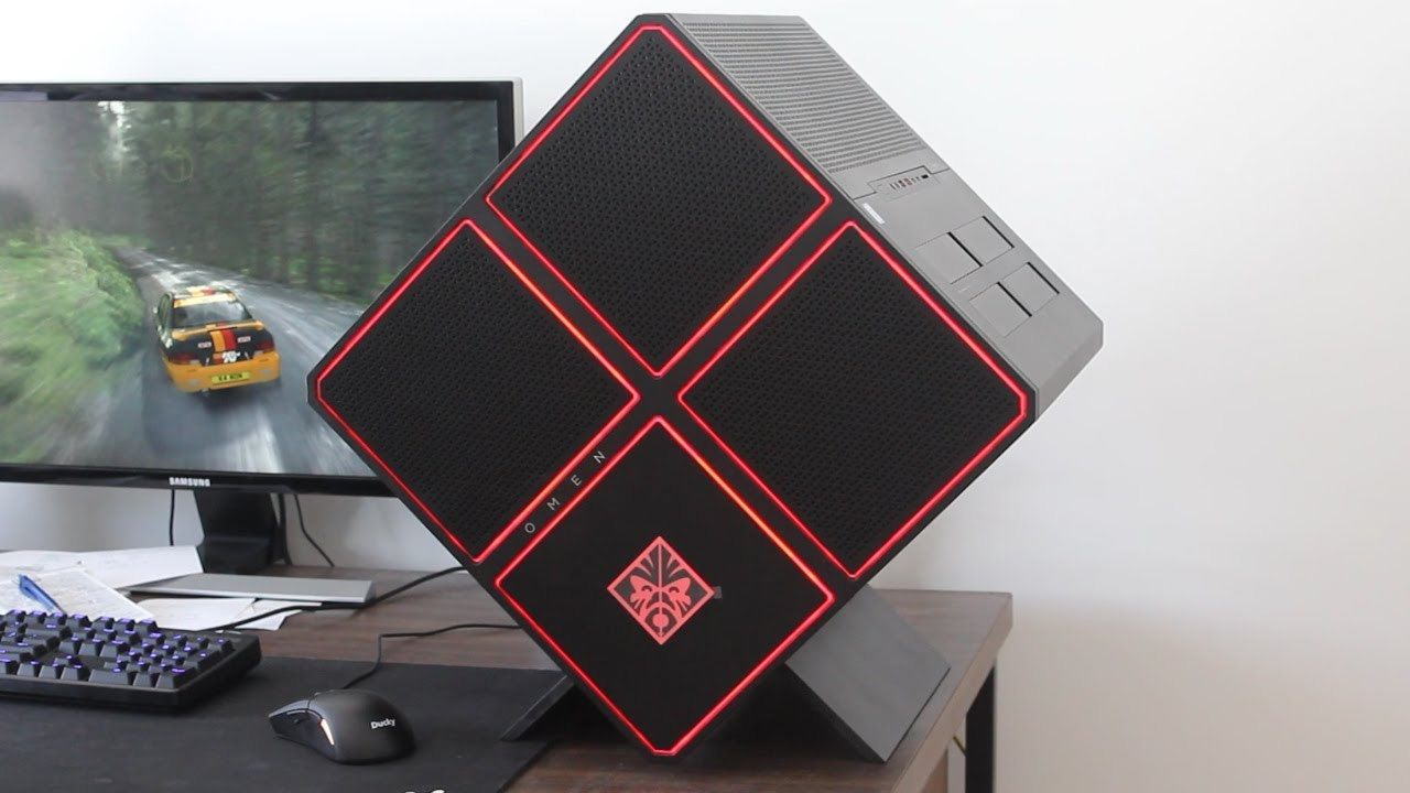 HP Omen X Cube Gaming Desktop PC Review