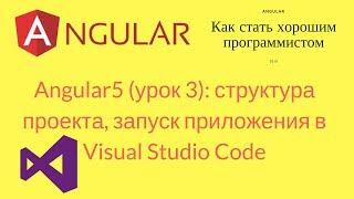 Angular (урок 3) - структура проекта