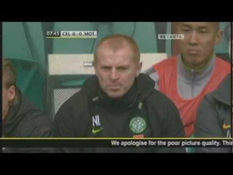 News Reaches Celtic Park Of Rangers Third Goal