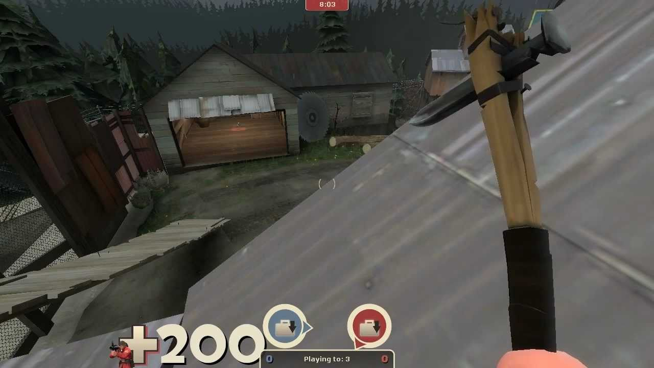 TF2 Worst Loadout Challenge: Soldier - This video is old. And I cannot rocket jump. I want to delete this. Look how sad this is.