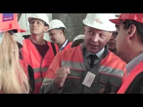 ТВ Диалог.  Модернизация помольного отделения и новое качество продукции «Пикалевского цемента»