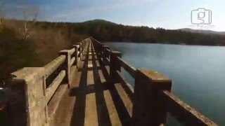 Lake Leatherwood Park Walking Trails, Eureka Springs Arkansas