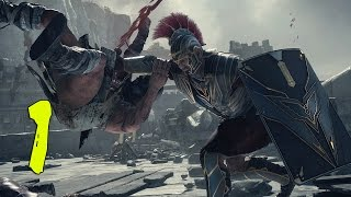 Ryse Son of Rome PC Walkthrough #1 - Roman Killing Machine