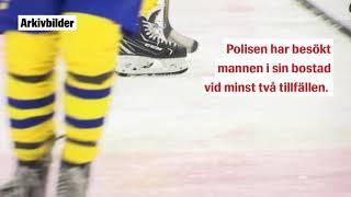 Hockeyprofil anhållen för våldsbrott i hemmet