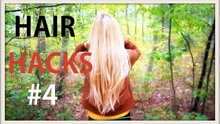 WŁOSOMANIA #4 - wsuwki, błyszczące włosy, wysoki kucyk