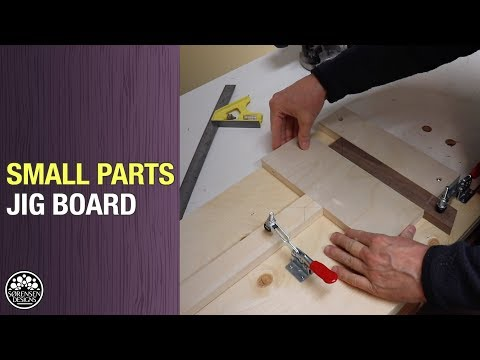 Don't Use a Router Table to Cut Small Parts // Woodworking Jig