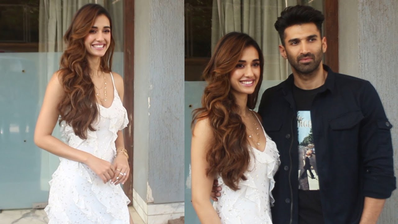 Aditya Roy Kapoor And Disha Patani Spotted Promoting Their Film Malang At Jw Marriott Youtube