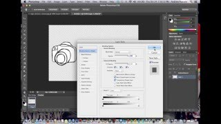 Photoshop tutorial: How to design a photography logo in Photoshop #Episode 1