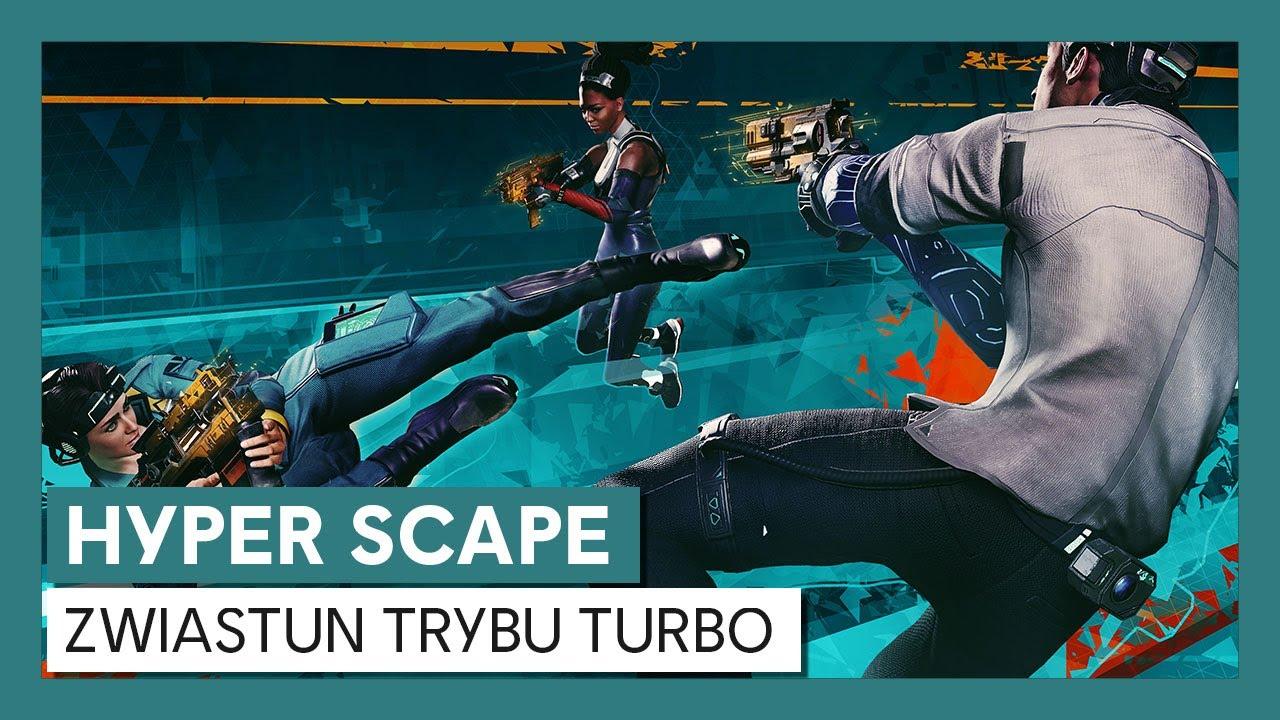Hyper Scape: Zwiastun Trybu Turbo