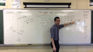 Completing the Square (2 of 2: The Quadratic Formula)