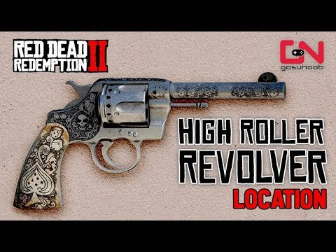 Red Dead Redemption 2 Online - How to get Rare High Roller Revolver for Free