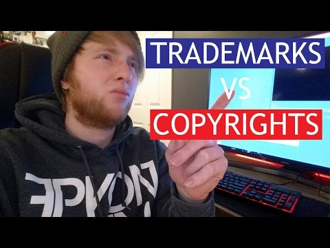 Copyright VS Trademarks! Simplified - Business Vlog - Start A Brand