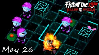 Friday the 13th: Killer Puzzle - Daily Death May 26 Walkthough (iOS, Android)