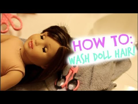 How To Fix American Girl Doll Hair! (JUST LIKE NEW!)