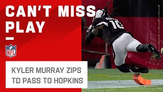 Murray Hits DeAndre Hopkins DEEP for the Sideline TD!
