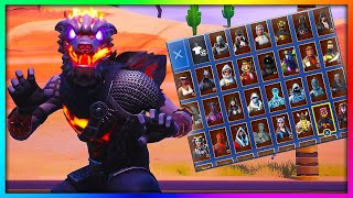 "Before You Buy ""MOLTEN BATTLE HOUND"" - All Back Bling Combinations Showcased in Fortnite (113+ BB's)"