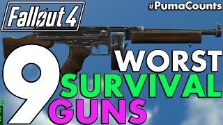 Top 9 Worst Guns and Weapons from Fallout 4 s Survival Mode Including DLC PumaCounts