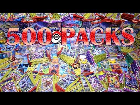 Opening 500 XY Pokemon TCG Packs! BREAKthrough, Phantom Forces, Roaring Skies AND MORE