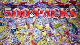 Opening 500 XY Pokemon TCG Packs! BREAKthrough, Phantom Forces, Roaring Skies AND MORE