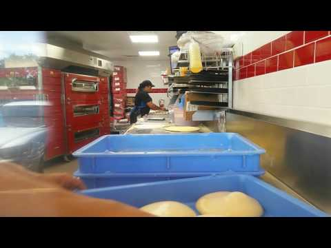 Dominos Pizza Dough Show