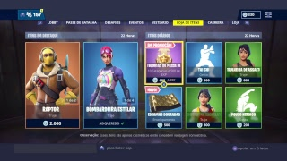 LIVESTREAM # 483 | FORTNITE-I ARRANGED A PARCEIRIA OF PACKS (SKIN) AT FORTNITE