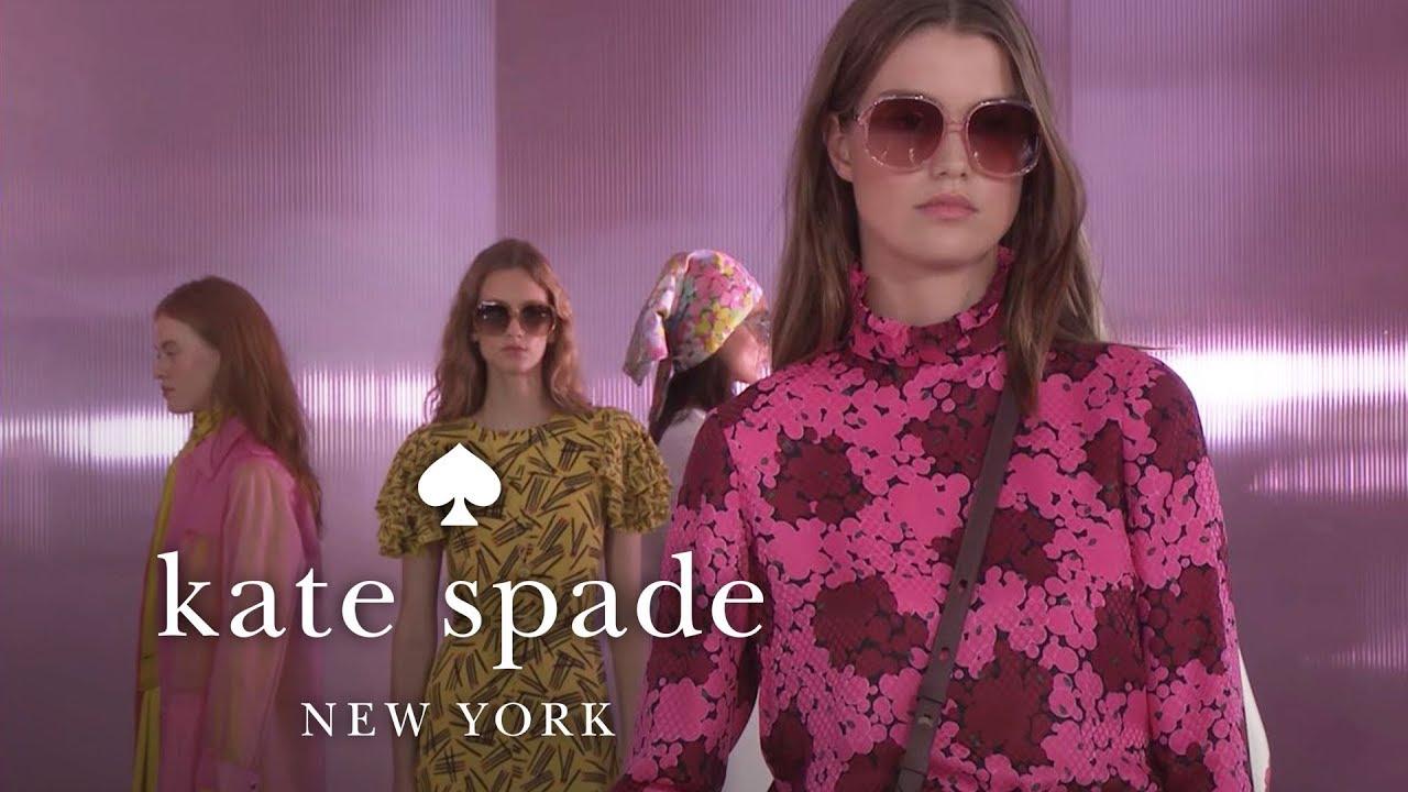 new york fashion week spring 2019 runway show | kate spade new york