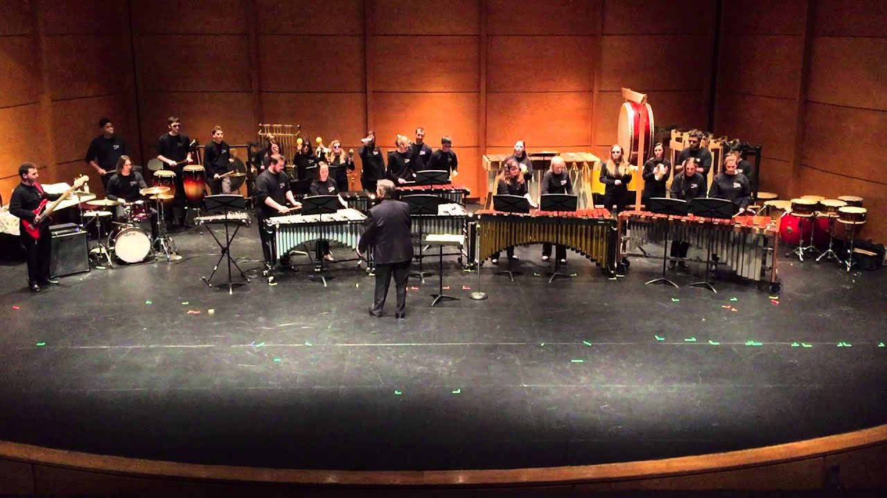 a report on the 2012 nyu african percussion ensemble performance Suu percussion the percussion studio at southern utah university is a close-knit group of students pursuing both percussion performance and music education under the direction of dr lynn vartan.